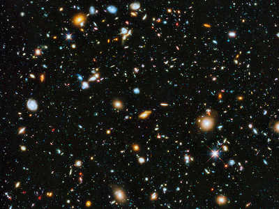 El campo ultra profundo del Hubble 2014. (Crédito: NASA, ESA, H. Teplitz and M. Rafelski (IPAC/Caltech), A. Koekemoer (STScI), R. Windhorst (Arizona State University), y Z. Levay (STScI))